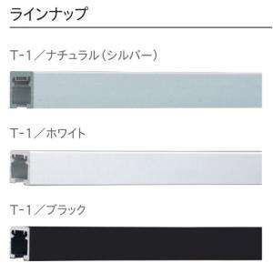 TOSOピクチャーレール T-1ナチュラル(シルバー) 特注サイズ10cm分|yoshioka|02