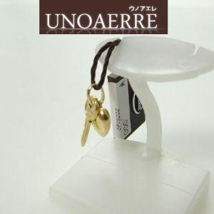 イタリア ジュエリー UNOAERRE ウノアエレ K18 イエローゴールド  ハート・鍵 ペンダントトップ |yosii-bungu