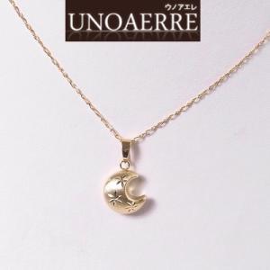 UNOAERRE ウノアエレ K18 月 モチーフ ペンダントトップ ネックレスは別売 004UJP0600000|yosii-bungu