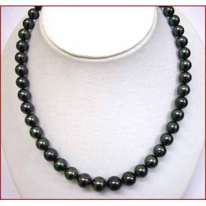 (今ならポイント最大41倍!)タヒチ 黒真珠ネックレス |yosii-bungu
