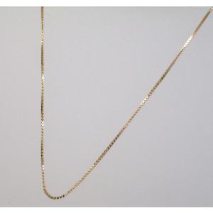 イタリア製 K18ピンクゴールドチェーン ネックレス 最長45cmフリーサイズ 3784F29R|yosii-bungu