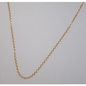 イタリア製 K18ピンクゴールドチェーン ネックレス 最長45cmフリーサイズ 4684F09R|yosii-bungu