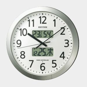 リズム RHYTHM プログラムカレンダー404SR オフィス時計  4FN404SR19 yosii-bungu