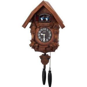 リズム 本格的ハト時計 カッコーテレスR クオーツ クロック   4MJ236RH06 yosii-bungu