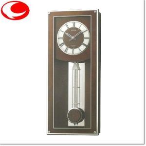 RHYTHM プライムフィールド 電波振子時計(正時メロディ付) 4MN522RH06|yosii-bungu