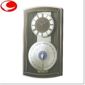 RHYTHM プライムオルガニートN ディスクオルゴール付電波時計 4MN531HG06|yosii-bungu