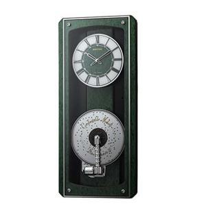 RHYTHM プライムオルガニートMN 05 ディスクオルゴール付電波時計 4MN532HG05|yosii-bungu