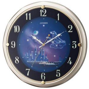 リズム スモールワールド ファンタジータウンR  アミュージングクロック 電波掛け時計 4MY819RH18 yosii-bungu
