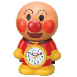 リズム時計/RHYTHM 目覚まし時計 アンパンマンめざましとけい 4SE552-M06|yosii-bungu