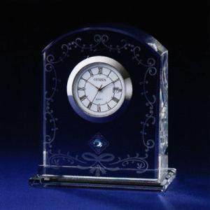 シチズン (CITIZEN) 置き時計 クリスタルデューR09 スワロフスキー・エレメント飾り付き 4SGA09-003|yosii-bungu