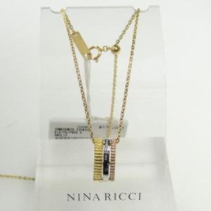 ニナリッチ K18ホワイトゴールド ・ピンクゴールド ・Pt900 ネックレス ダイヤモンド |yosii-bungu