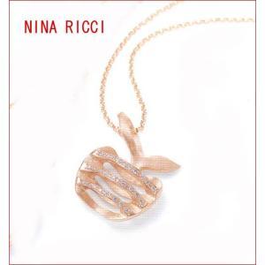 NINA RICCI  フィーユ ティーヴ ダイヤモンドネックレス (全国送料無料)|yosii-bungu