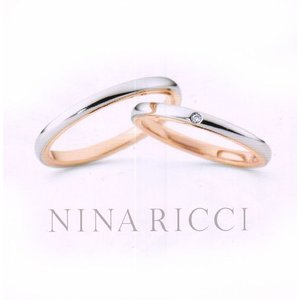 (今ならポイント最大37倍!)ニナリッチ マリッジリング [結婚指輪] (左側)ダイヤ無し 6R1F01|yosii-bungu
