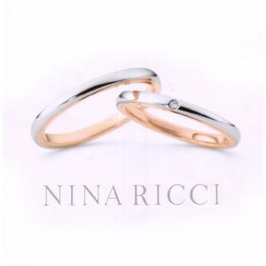 (今ならポイント最大37倍!)ニナリッチ マリッジリング  ペアリング (2本分)  [結婚指輪] 6R1F01-6R1F02 |yosii-bungu