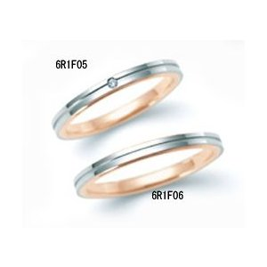 (今ならポイント最大37倍!)ニナリッチ マリッジリング ダイヤモンド入り [結婚指輪] (上側)  6R1F05|yosii-bungu