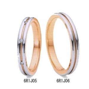 (今ならポイント最大37倍!)ペアリング(2本分) ニナリッチ 結婚リング 結婚指輪・マリッジリング  6R1J05/6R1J06 ペア特別価格|yosii-bungu