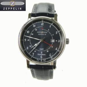 ツェッペリン 腕時計 75463  ノルドスタン Nordstern メンズ GMT機能/デイト表示 正規輸入品|yosii-bungu