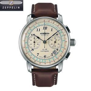 ツェッペリン  LZ126 Los Angeles  腕時計 LZ126 Los Angeles  7614-5 クオーツ クロノグラフ  メンズ  76145  正規輸入品|yosii-bungu