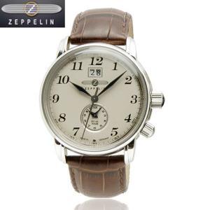 [ツェッペリン]ZEPPELIN 腕時計 LZ127 Graf Zeppelin アイボリー 76445N メンズ 【正規輸入品】 メンズ|yosii-bungu