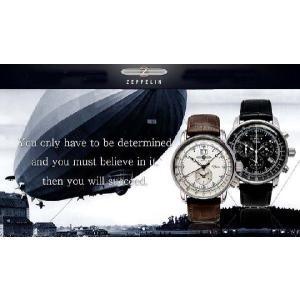 [ツェッペリン]ZEPPELIN 腕時計 LZ127 Graf Zeppelin アイボリー 76445N メンズ 【正規輸入品】 メンズ|yosii-bungu|03