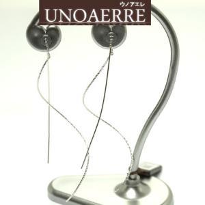 UNOAERRE ウノアエレ K18 ホワイトゴールド アメリカンピアス 8000FX9400000W|yosii-bungu