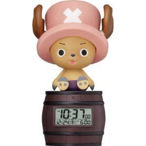 シチズン リズム時計     トニートニー・チョッパー  目覚まし時計  8RDA51RH06|yosii-bungu