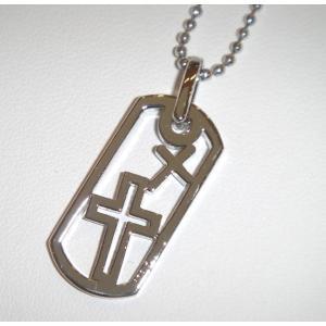 me クロスペンダント 男性用 cross Q7-8  メンズ  yosii-bungu