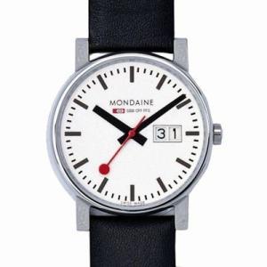 MONDAINE  リストウォッチ A669.30300.11SBB メンズサイズ【スイス国鉄オフィシャル鉄道ウォッチ】|yosii-bungu