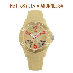 HelloKitty×AMONNLISA 腕時計 ALHK1212BR (ブラウン)|yosii-bungu