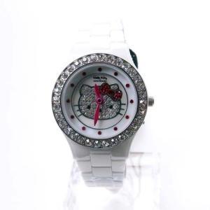 ハローキティ 腕時計 ホワイトセラミック   (限定品) ALHK2015CM-CB ホワイト|yosii-bungu