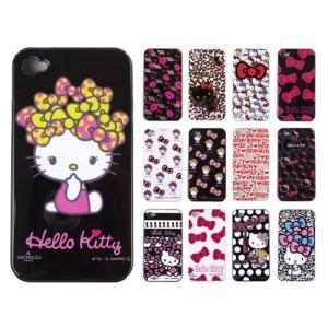i-phone4/4S  専用ケース   AMONNLISA (アモンリザ) × Hello Kitty(ハローキティ)  キティ シリコンカバー|yosii-bungu