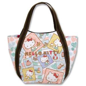 AMONNLISA(アモンリザ) × Hello Kitty(ハローキティ)  トートバッグ 003 スウィート・ハローキティ PMサイズ 全20種|yosii-bungu