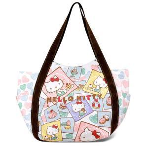 AMONNLISA(アモンリザ) × Hello Kitty(ハローキティ)  トートバッグ 003 スウィート・ハローキティ  全22種|yosii-bungu