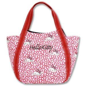 AMONNLISA(アモンリザ) × Hello Kitty(ハローキティ)  トートバッグ 005 リボン・ハローキティ PMサイズ 全20種|yosii-bungu