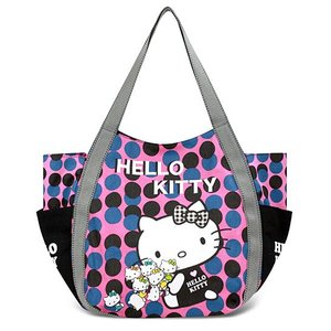 AMONNLISA(アモンリザ) × Hello Kitty(ハローキティ)  トートバッグ 011 リトル・ハローキティ  全22種|yosii-bungu