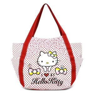 AMONNLISA(アモンリザ) × Hello Kitty(ハローキティ)  トートバッグ 012 ポルカッド・ハローキティ  全22種|yosii-bungu