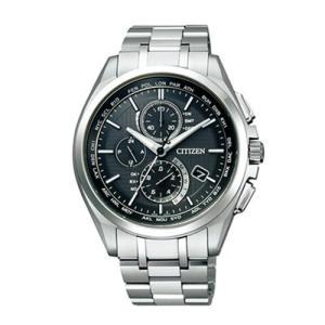 シチズン CITIZEN 腕時計 アテッサ AT8040-57E  電波時計  ワールドタイム切り替え機能付き  金城 武 コマーシャルモデル |yosii-bungu