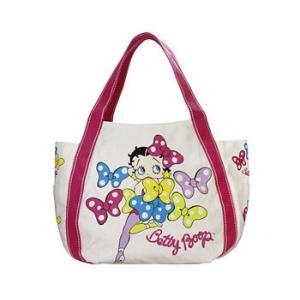 Betty Boop×AMONNLISA プリントバッグ リボン 5種類 |yosii-bungu