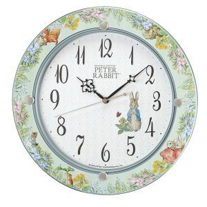 (今ならポイント最大37倍!)SEIKO セイコー ピーターラビット 電波掛け時計 CL614M|yosii-bungu
