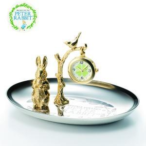 (今ならポイント最大37倍!)セイコー ピーターラビット 掛時計  CL617S トレイ|yosii-bungu