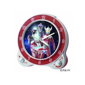 セイコー ウルトラマンギンガ 目覚まし時計 CQ133S  限定品 「限定:円谷プロ50周年記念|yosii-bungu