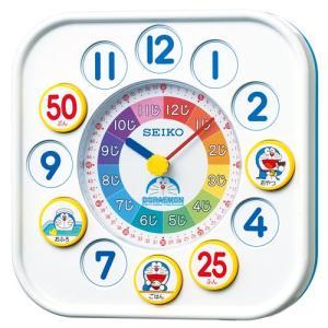 (今ならポイント最大37倍!)セイコー ドラエモン 知育時計 CQ319W 掛置き兼用クオーツ時計|yosii-bungu
