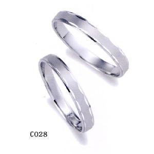 2本分 et toi (エトワ) マリッジ  Pt950(プラチナ) 【マリッジ ペアリング 結婚指輪 1号〜21号】 C028 |yosii-bungu