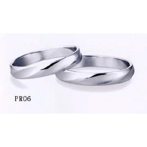 et toi (エトワ) マリッジ  Pt900(プラチナ) 【マリッジ リング 結婚指輪 1号〜21号】 PR06 |yosii-bungu