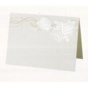 [取寄せ:入荷までに1週間〜10日ほどかかります] Hallmark Wedding Collection 〜ウェディングコレクション〜 席札セット ローズ|yosii-bungu