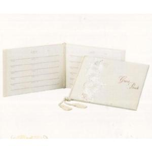 [取寄せ:入荷までに1週間〜10日ほどかかります] Hallmark ウェディングコレクション 結婚式 ゲストブック ローズ|yosii-bungu