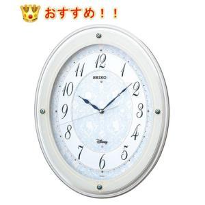 (今ならポイント最大37倍!)セイコー クロック  SEIKO CLOCK ディズニーPRINCESS FS502W  電波掛時計(白) FS502W ギフト掛け時計|yosii-bungu