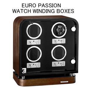 ワインディングマシーン EURO PASSION 4本巻きワインダー FWD-4134WA (ブラウン) yosii-bungu