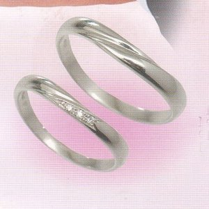 glad   結婚リング プラチナ マリッジリング  (ペアリング)2本分 GP-4M  PT900|yosii-bungu