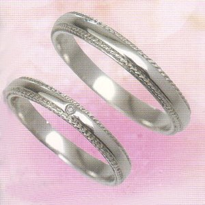 glad   結婚リング プラチナ マリッジリング  (ペアリング)2本分 GP-5M  PT900|yosii-bungu